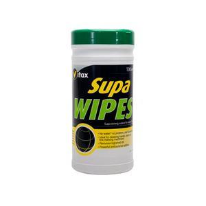 Image de SUPA-WIPES lingette multi-usages Antibactérien