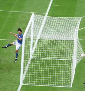 "Image de Filets buts Cage Senior ""EUROPA CUP"" Blanc 4mm"