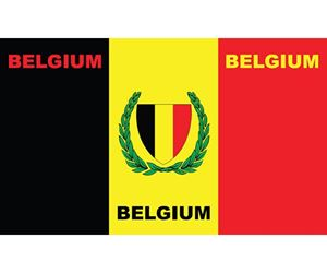 Image de Drapeau Belge Belgische vlag 1,50m x 0,90m BELGIUM