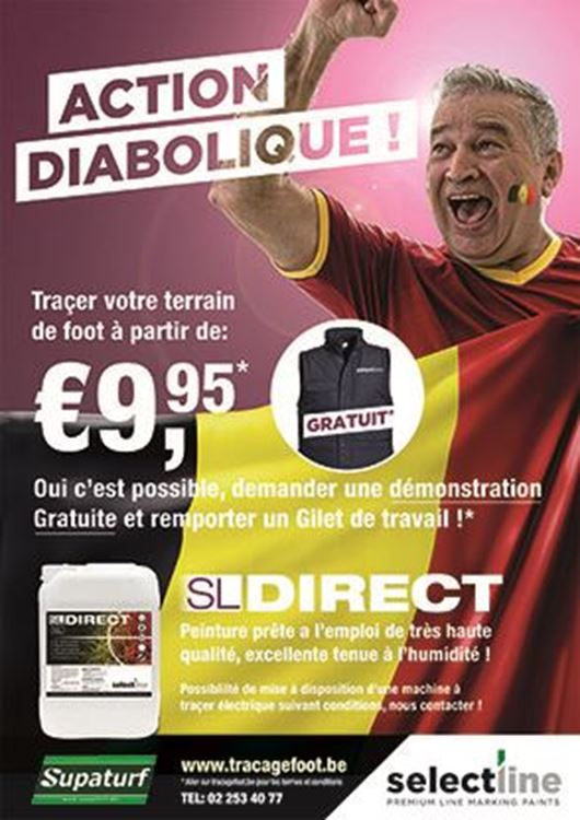 Traçer votre terrain de foot  à partir de:  € 9,95 ( * )