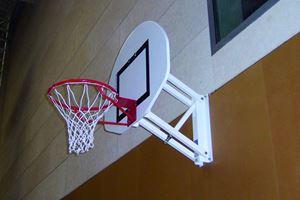 Image de But de basket mural à hauteur réglable 120x90cm