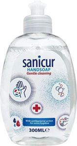 Image de Savon à mains anti-bactérien Sanicur 300ml