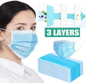 Image de Masque chirurgical 3 plis 50 pcs Type II R - Masque jetable