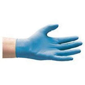 Image de 100 x Gants jetables latex naturel, non poudrés Taille (Medium)