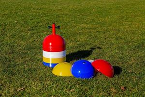Image de Dômes de repérage boule souple jeu de 40