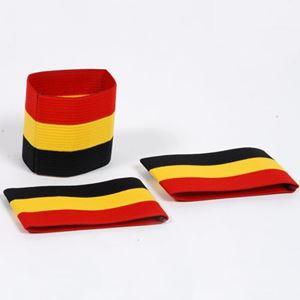 Image de Brassard Tricolor Belge: noir/jaune/rouge