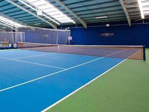 Image de Filet de Tennis Match Rouge