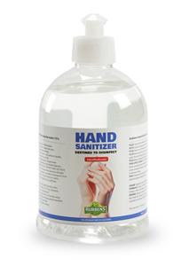 Image de gels hydroalcooliques pour les mains 500ml