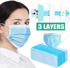 Image de Masque chirurgical 3 plis 50 pcs Type II R - Masque jetable