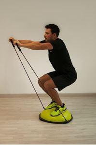 Image de Coussin d'équilibre POWERSHOT® BOSU Balance Trainer