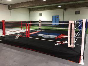 Image de Ring de Boxe Club entrainement 30cm hauteur 6x6m